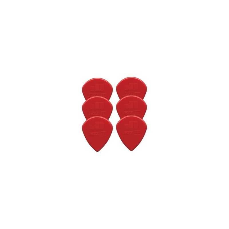 Dunlop Jazz III Nylon Sharp Red