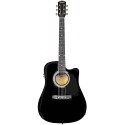 Fender Squier SA-105CE Bk