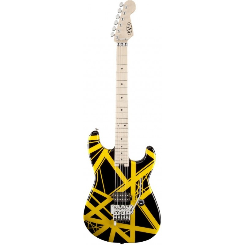 EVH Striped Black & Yellow