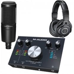 Pack Studio 2x2M AT2020 ATH-M20X