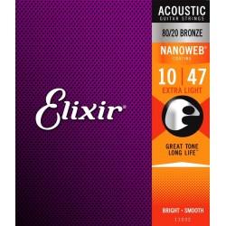 Elixir Nanoweb Bronze Extra...