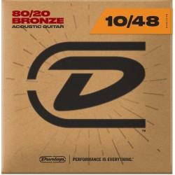 Dunlop Acoustic 80/20 10-48
