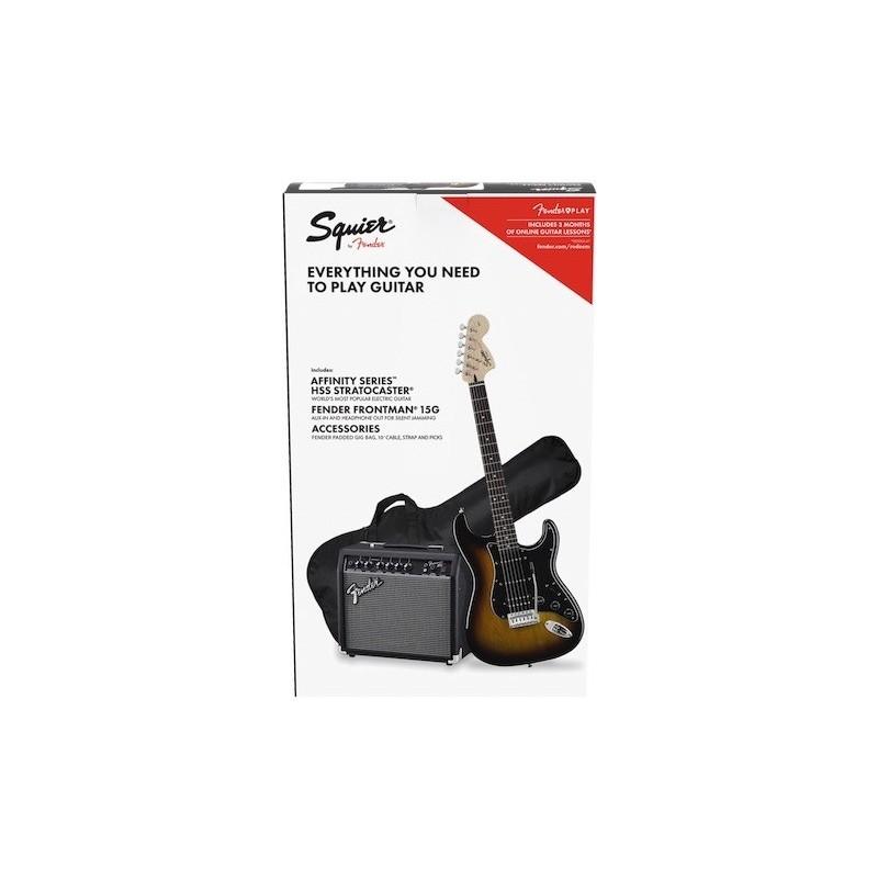 Fender Affinity Stratocaster HSS Pack