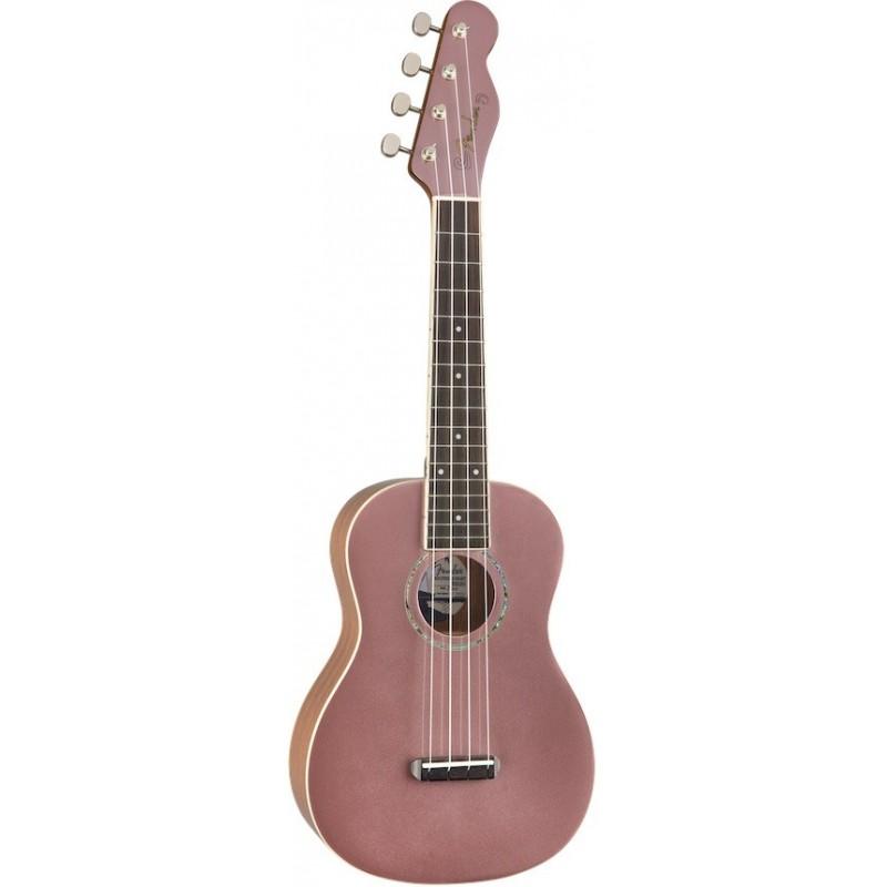 Fender Zuma Classic Concert Ukulele Blue Rose