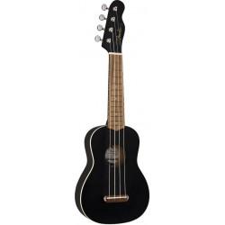Fender Venice Soprano Black