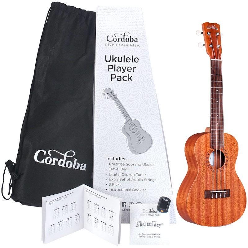 Cordoba Ukulele Player Pack Concert