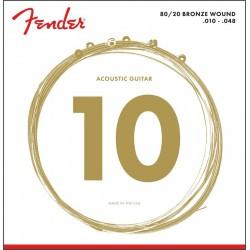 Fender 80/20 BRONZE 10-48