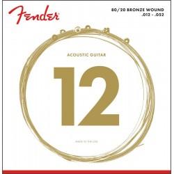 Fender 80/20 BRONZE 12-52