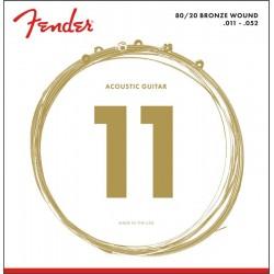Fender 80/20 BRONZE 11-52