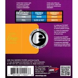 Elixir Nanoweb Custom Light Acoustic