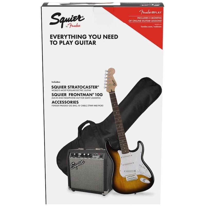 Fender Squier Stratocaster Pack Sunburst