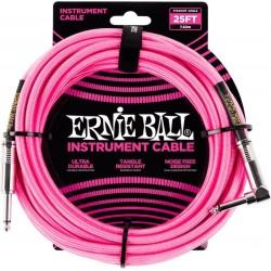 Ernie Ball Braided 25' Neon...