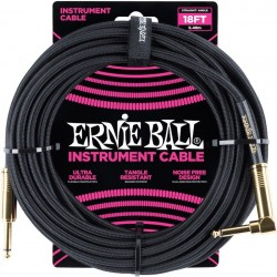 Ernie Ball Braided 25' Black