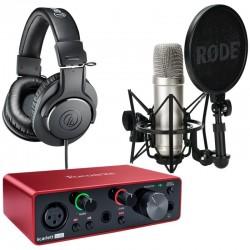 Pack Studio Solo NT1A M20x