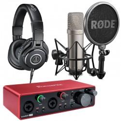 Pack Studio 2i2 NT1-A