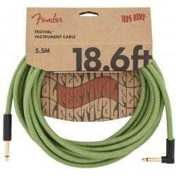 Fender Festival Hemp 3m Green