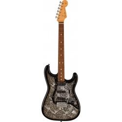 Fender Ltd Strat MN Black Paisley