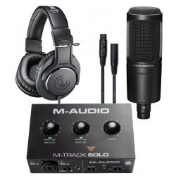 Pack Studio M-track Solo...