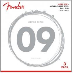 Fender 3-Pack 250's 09-42