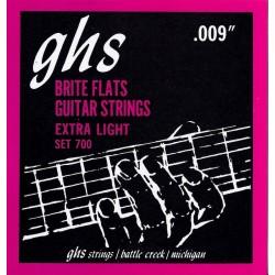 GHS Brite Flats Extra Light