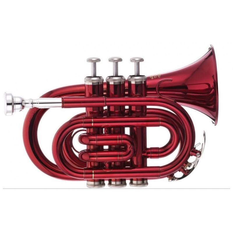 TR 5 Red Bb-Pocket Trumpet