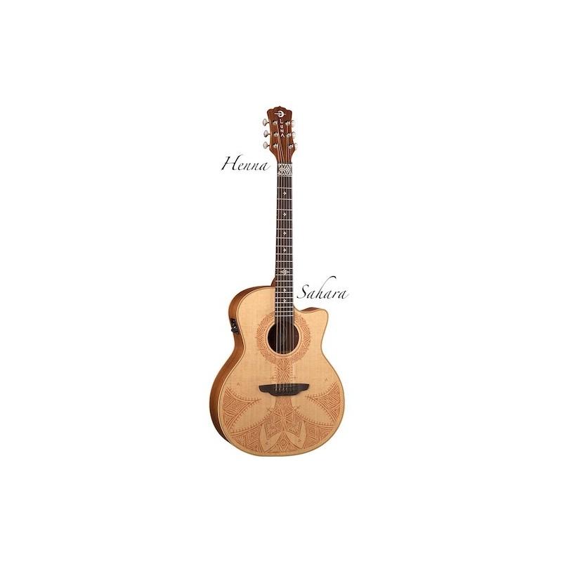 Luna Guitars Henna Sahara