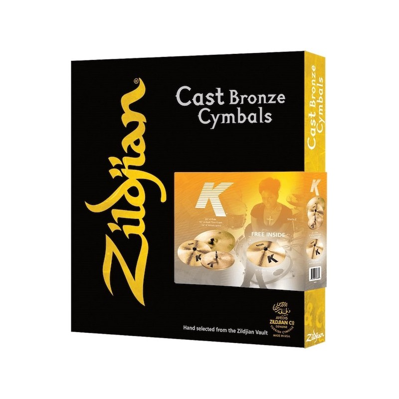 Zildjian Cast Bronze Cymbals