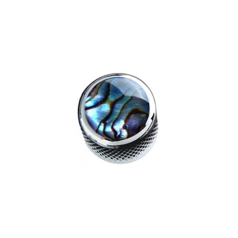 Q-Parts Mini Dome Potiknob Abalone