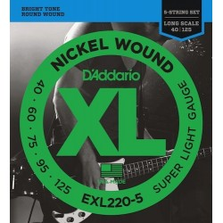 Daddario EXL220-5