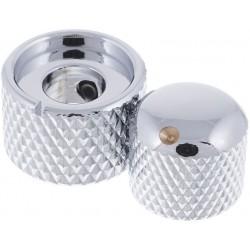 Harley Benton Parts Dual Knobs CR